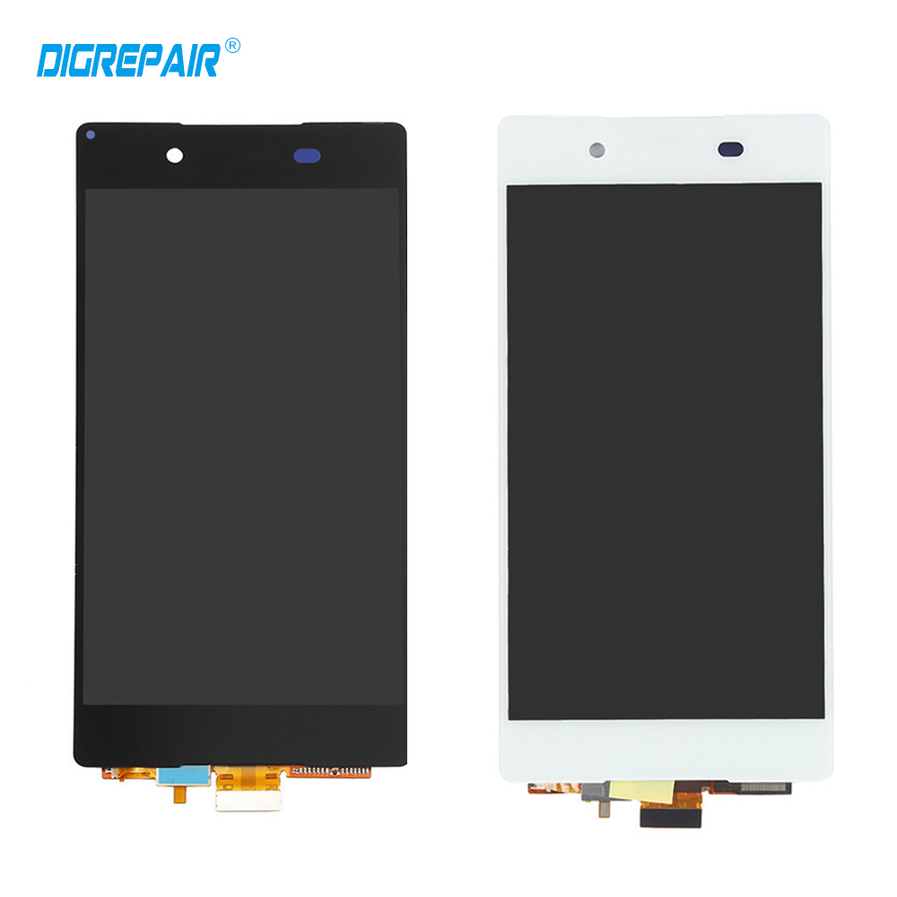 "5.2"" Black White For Sony Xperia Z3 + Z3 Plus Z4 E6553 E6533 E5663 LCD Display Touch Screen Digitizer,Free shipping"