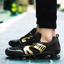 Hot Sale Formotion Mesh Eva Spring New Sports Couple Models Wear Non-slip Cushioning Running Shoes Blade Free Shipping