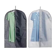 11410cf04086f Su geçirmez elbise toz kapağı ev saklama çantası için konfeksiyon Suit elbise  elbise ceket kılıfı durumda