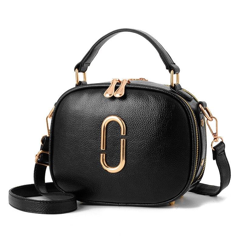 Высокое качество известный бренд Сумочка 2017, женская обувь Женский Интернет-магазин черная сумка через плечо из искусственной кожи Мужские...