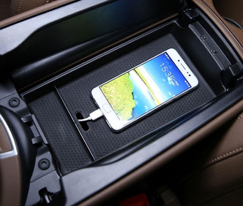 For Mercedes Benz E Class W213 E200 300L 2016-2019 Central Armrest Storage Box