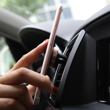 Magnetic Small and exquisite Phone Holder For In Car Air Vent Compact Mount Universal Mobile