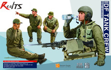 RealTS Meng Model 1 35 HS 002 IDF TANK CREW plastic model kit