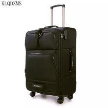 KLQDZMS – valise de voyage à roulettes, 20/24/28 pouces, Oxford Spinner, bagage à roulettes