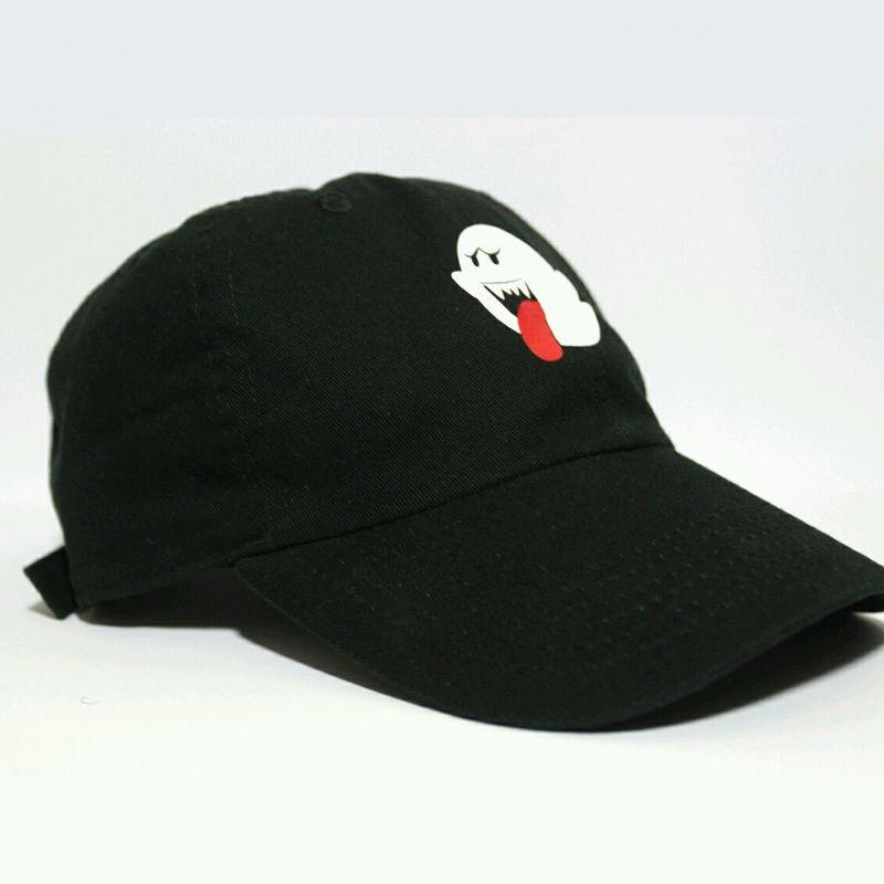 ed293c92 New Arrival Women Men Unisex Bryson Tiller Boo Ghost Trapsoul Funny Cap Hat  Hip hop Adjustable Baseball Cap Hat Black-in Baseball Caps from Apparel ...
