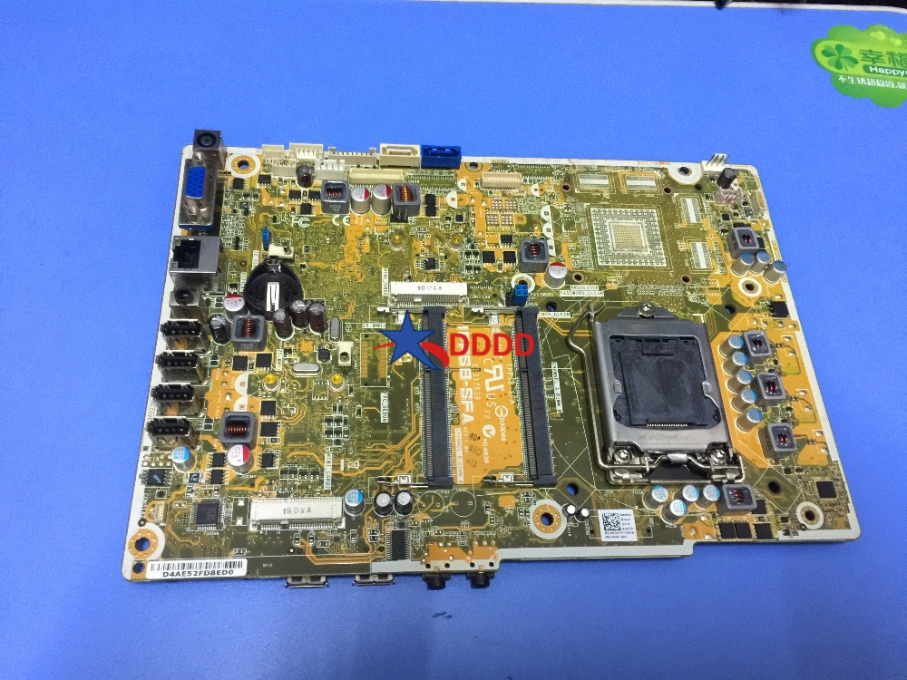 Original For Dell Inspiron One 2320 Vostro 360 Motherboard 6d4yp 06d4yp IPPSB-SFA fully tested original for dell 0x836m x836m poweredge r510 8 bay sas riser board backplane cn 0x836m fully tested