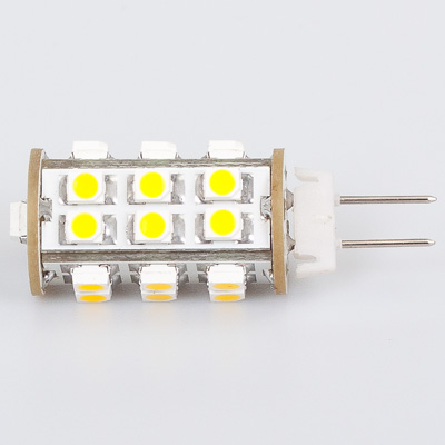 Free Shipment 25 <font><b>Led</b></font> <font><b>G4</b></font> Lamp 3528 SMD Wide Volt 12V&<font><b>24V</b></font> 180-200LM Bi-pin Spot <font><b>Bulb</b></font> <font><b>Light</b></font> Warm White 1pcs/lot image