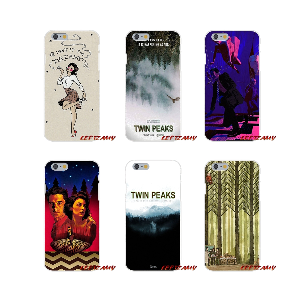 For iPhone X 4 4S 5 5S 5C SE 6 6S 7 8 Plus Accessories Phone Shell Covers Welcome To Twin Peaks tv show