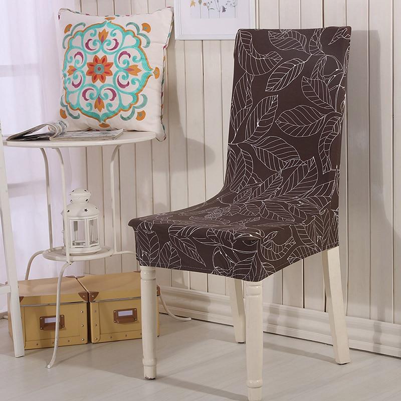 Mocha chair cover spandex