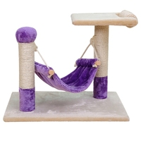 2016 New Arrival Cat Furniture Scratching Post Cat Jumping Climbing Tree Kitten Playing Training Swing Pet