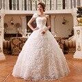 ГОРЯЧАЯ Бесплатная доставка новый 2014 белый красный принцесса модные свадебные платья романтический тюль свадебные платья Vestidos De Novia HS083