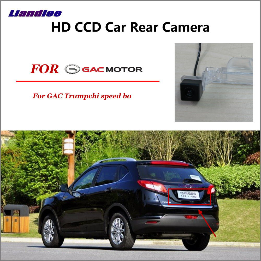 Liandlee For GAC Trumpchi speed bo Car Rear View Back Backup Camera Rearview Reverse Reversing Parking Camera in Vehicle Camera from Automobiles Motorcycles