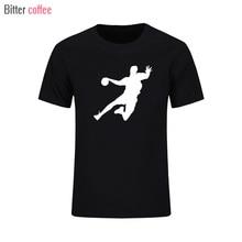 2017 Summer New Novelty handball t shirt Cotton Mens designs creative skateboard Short sleeve t-shirt
