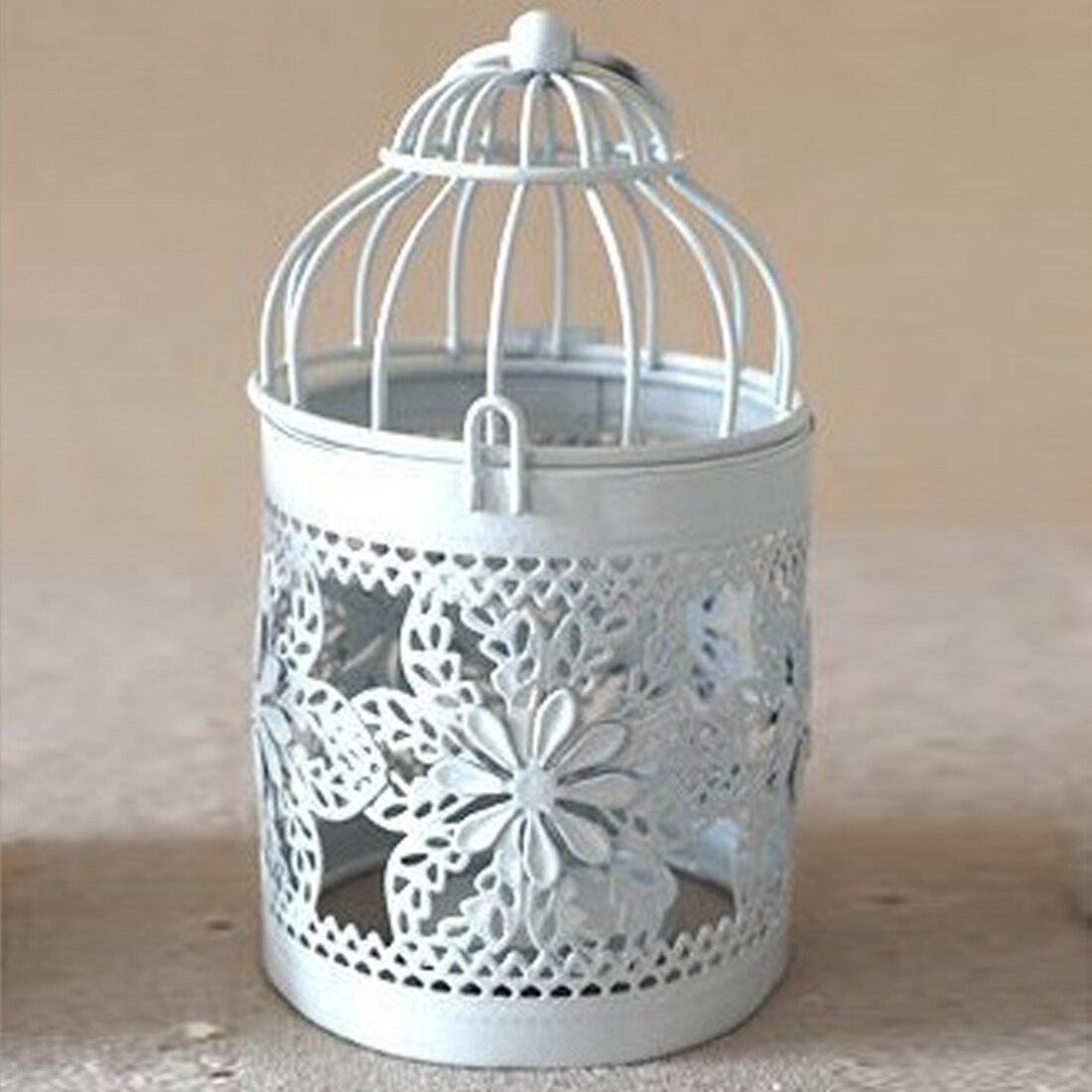 Wohnkultur Brieftaschen Und Halter Kreative Candelabros Hohl Hängenden Vogelkäfig Kerzenhalter Kerzenhalter Laterne Braut Decor Vintage Leuchter Wohnkultur