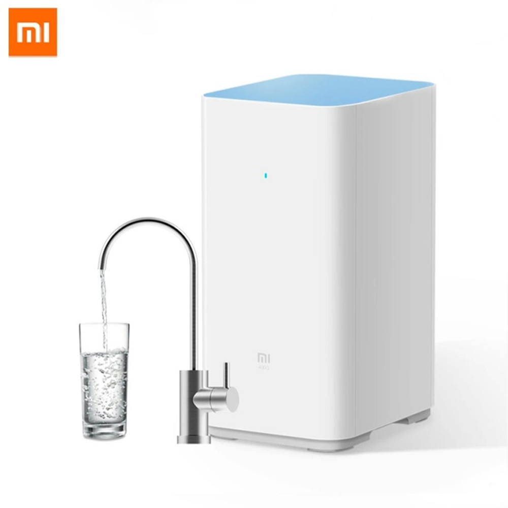 Original Xiaomi Mi <font><b>Water</b></font> Purifier Watering Filters Support RO Purification Technology Large 400Gallon Flow Reverse Osmosis <font><b>Water</b></font>