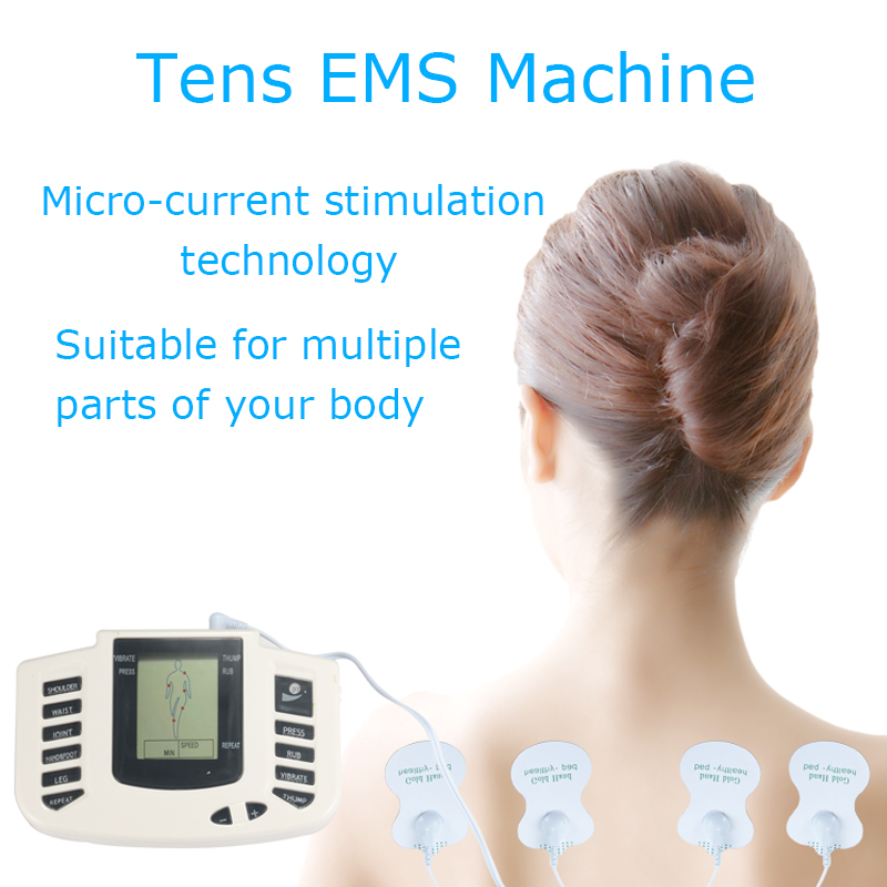 Image 3 - Tens ems massager electro stimulation muscle stimulator electrostimulator fisioterapia physiotherapy machine 16 pads-in Massage & Relaxation from Beauty & Health