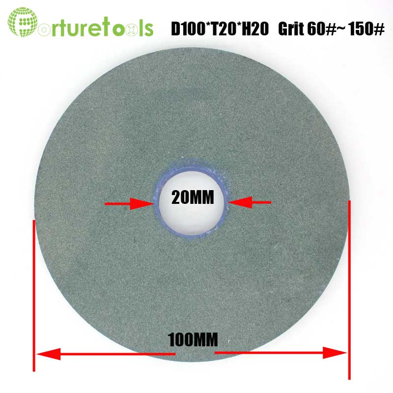 1 piece flat shape WA and GC bench grinding wheel for metal steel bonded abrasive tools MT036