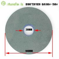 1 piece flat shape WA and GC bench grinding wheel for metal steel bonded abrasive tools PS019