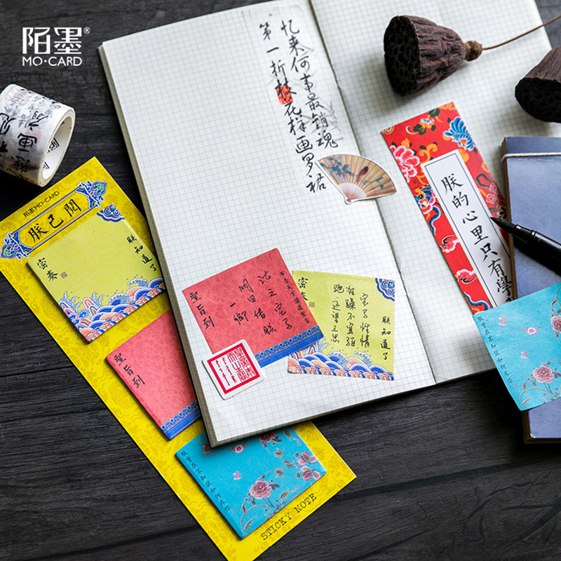 60sheets lot Creative Long Version Colorful Memo Pad Self Adhesive Sticky Notes Office School Supplies Notepad Stationery in Memo Pads from Office School Supplies