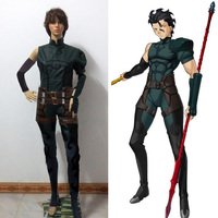 Fate Zero Lancer Diarmuid Ua Duibhne Cosplay Costume Custom Made Free Shipping