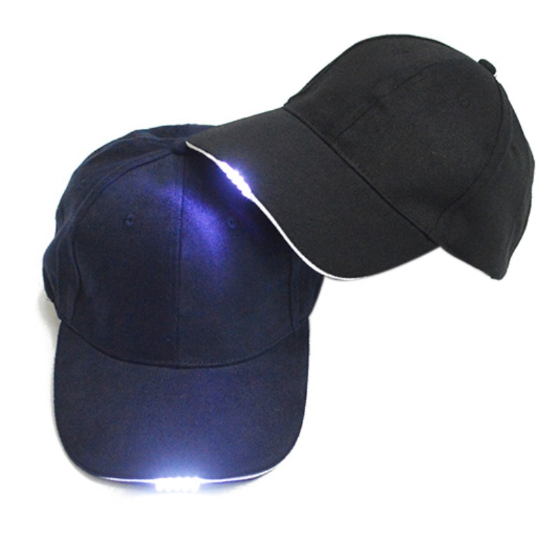 Outdoor Caps Night Dropshipping LED Flashlight Fishing Hunting Hats Walking Hat Cycling
