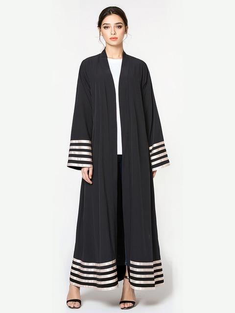 6196117f8 Caftan Marocaine 2018 Women Muslim Dress Maxi Cardigan Abaya Middle East  Clothing Plus Size 5XL Malaysia Dress