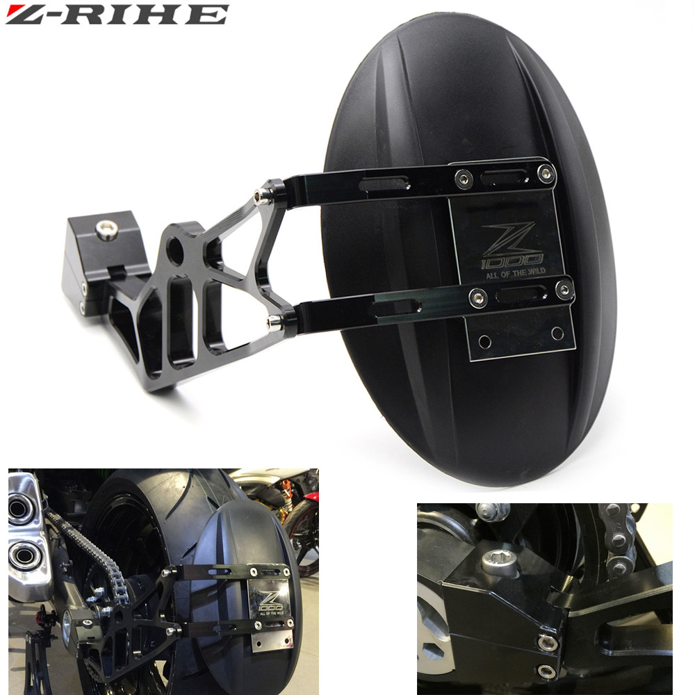 For Z1000 Z 1000 Z1000SX CNC Motorcycle Accessories rear fender bracket motorbike mudguard For KAWASAKI Z1000 Z1000SX 2010-2016 eosuns led daytime running light drl for vw jetta sagitar golf 5 variant 2006 2010 wireless switch control
