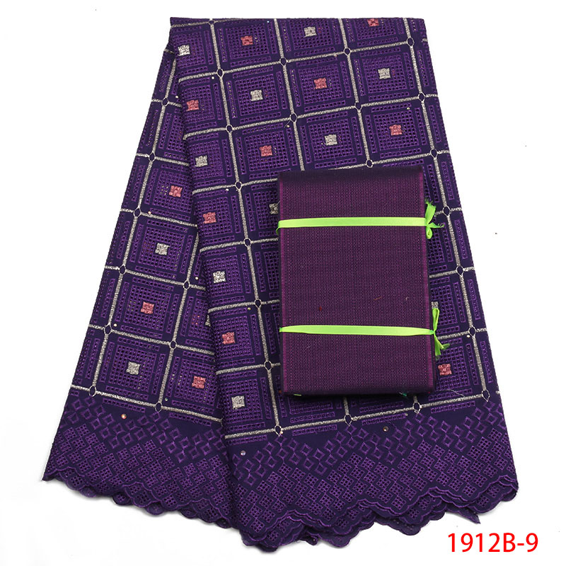 Best selling African Cotton Lace Fabric For Wedding 2019 Beautiful Embroidered Swiss voile lace Fabrics With Aso Oke APW1912B-2Best selling African Cotton Lace Fabric For Wedding 2019 Beautiful Embroidered Swiss voile lace Fabrics With Aso Oke APW1912B-2