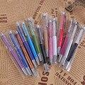 1 Unids 14 diferentes colores Pluma De Cristal Swarovski de Lujo Del Diamante de Plumas De Metal Bolígrafo para escritura Kawaii Lindo Lápiz Escuela para regalo