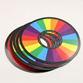 Wholesale Jinhuo Magic Tricks Mysterious Rainbow Ring Stage Magic Trick Toy Rainbow Ring Magic Prop