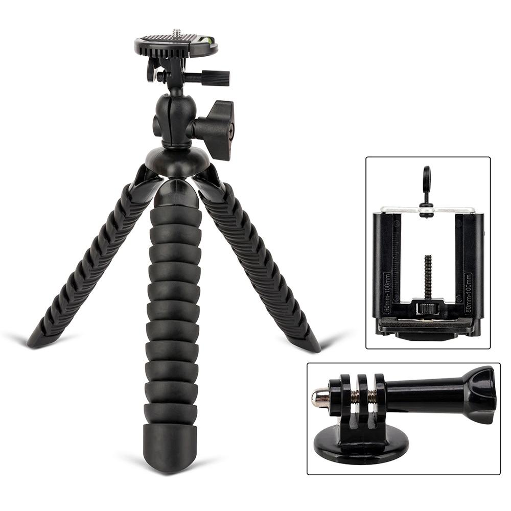 ZOMEI Mini Flexible Desk Travel Tripod accessories for ...