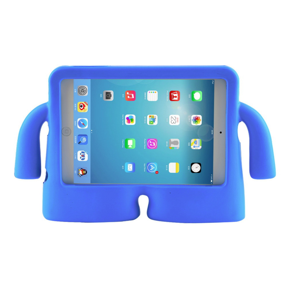 online store 73fa9 51148 Free shipping For iPad Mini case for iPad Mini2 case for iPad Mini 3 iPad  Mini 4 case Shockproof Kids Handle EVA Foam Case Cover-in Tablets & e-Books  ...