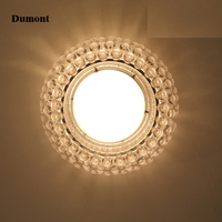 Modern minimalist living creative personality are the Nordic circular bedroom ceiling lamps acrylic lamp beads of Zeus