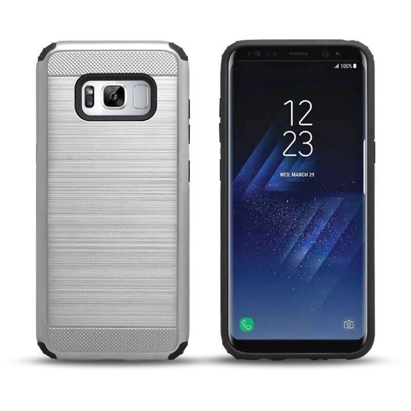Telemóvel case de metal escovado para samsung galaxy s6 alta qualidade metal case para samsung s6 shell silicone case para samsung S6