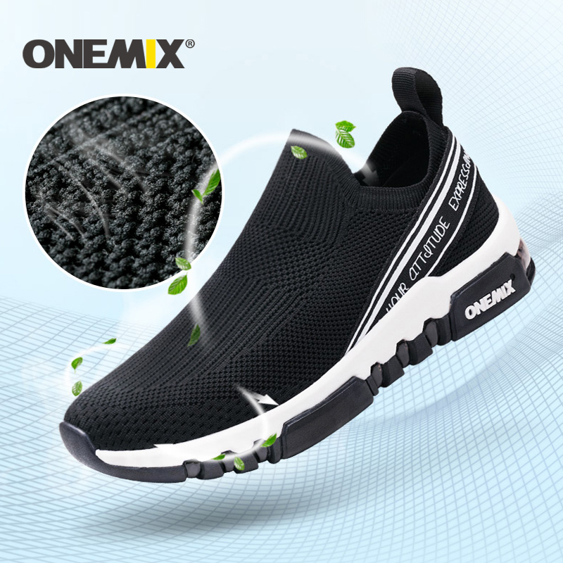ONEMIX new running shoes for men breathable sneakers women outdoor trekking walking shoes men Sport Shoes