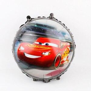 Image 3 - Воздушные шары из фольги в виде гоночной машины, 50 шт., 18 дюймов, автомобиль, украшения для свадьбы, дня рождения, детские подарки, товары для мальчиков, игрушки, автомобильные шары, оптовая продажа