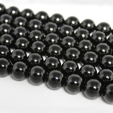 4 6 8 10 12mm Natural AAA Black Agate Onyx Stone Round Gemstone Loose Beads DIY Accessory For Necklace Bracelet Jewelry Making xinyao jewelry loose 40 4 6 810 12 14 f369 onyx agate beads