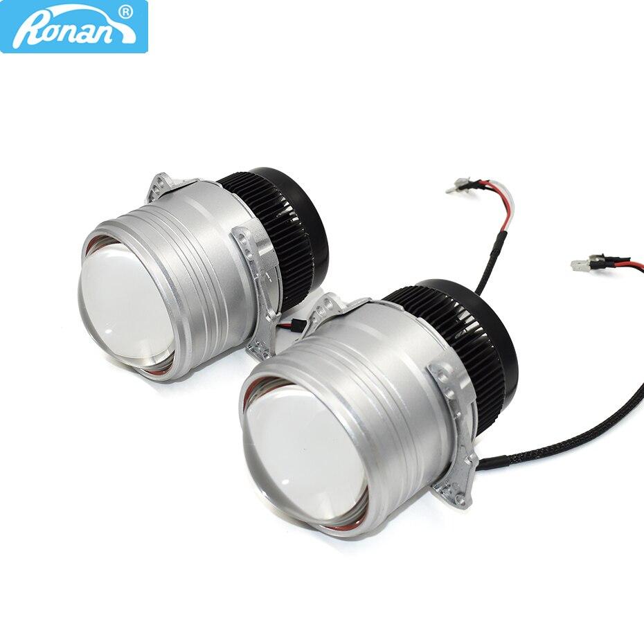 Ronan 3 0 inch Direct injection multi lens LED car headlights double lens 9 unit led