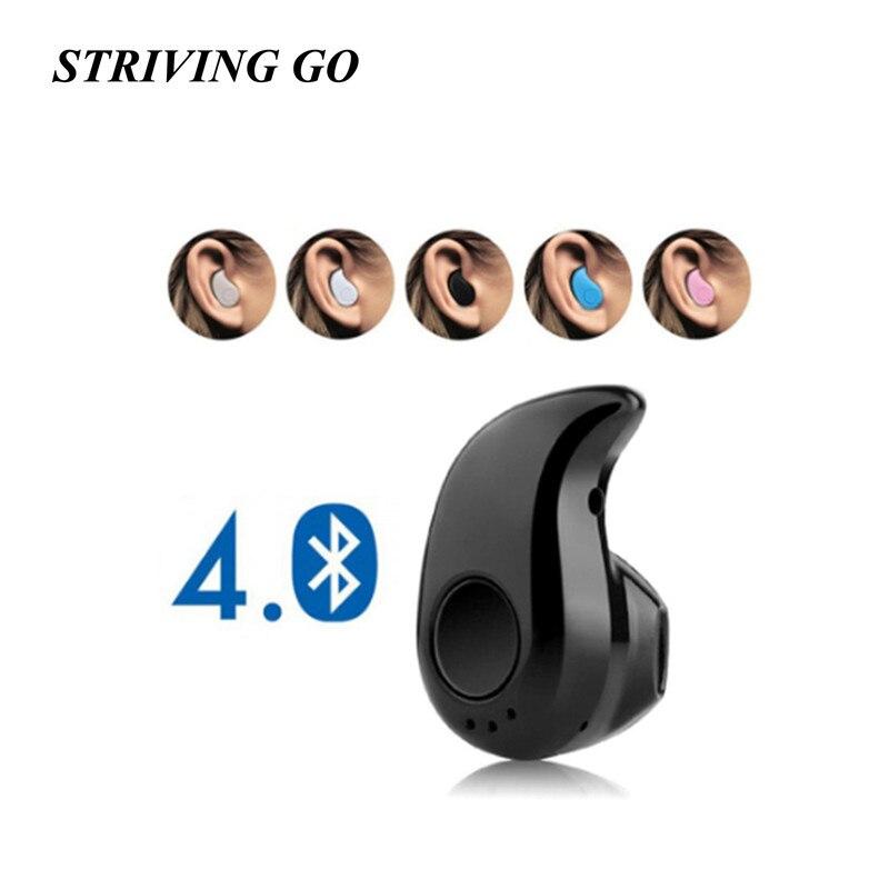 S530 Mini Bluetooth Wireless Earphone In Ear Sport Headset Earpiece With Mic Handsfree For Xiaomi IPhone Samsung PK I7s I9s I11
