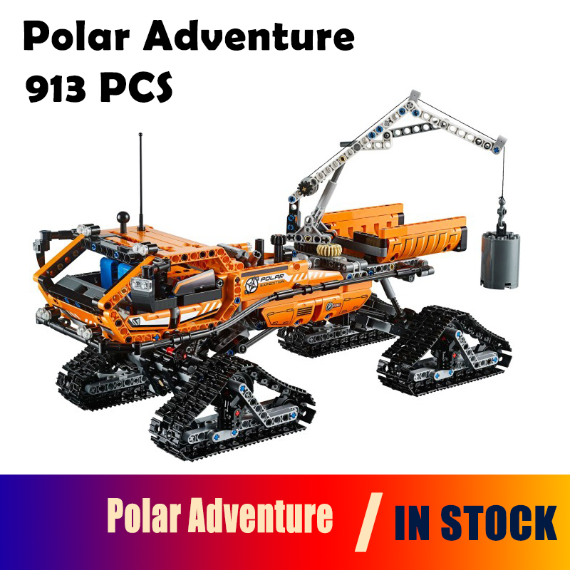 Compatible with Lego Genuine Technic 42038 model 20012 913pcs Polar Adventure Vehicle building blocks bricks toys for children compatible with lego technic creative lepin 24011 1344pcs 3 in 1 highway transport building blocks 6753 bricks toys for children