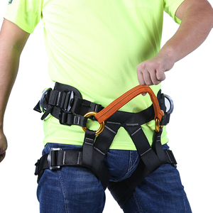 Image 5 - XINDA Camping Outdoor Hiking Rock Climbing Half Body Waist Support Safety Belt Climbing tree Harness Aerial Sports Equipment