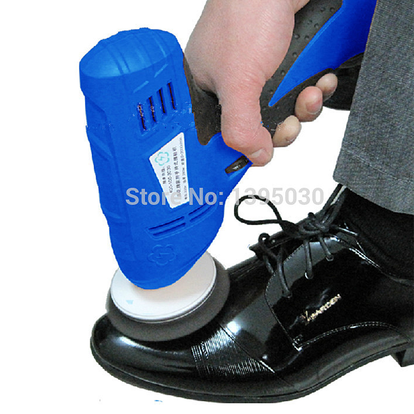 1PC 220V 280W Portable Hand-held Leather Polishing Equipment Device Automatic Mini Clean Machine 1pc white or green polishing paste wax polishing compounds for high lustre finishing on steels hard metals durale quality