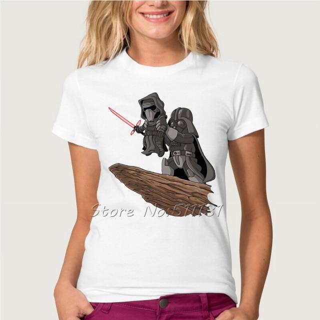 Star Wars Darth Vader & Kylo Ren Lion King Style Printed T-Shirt