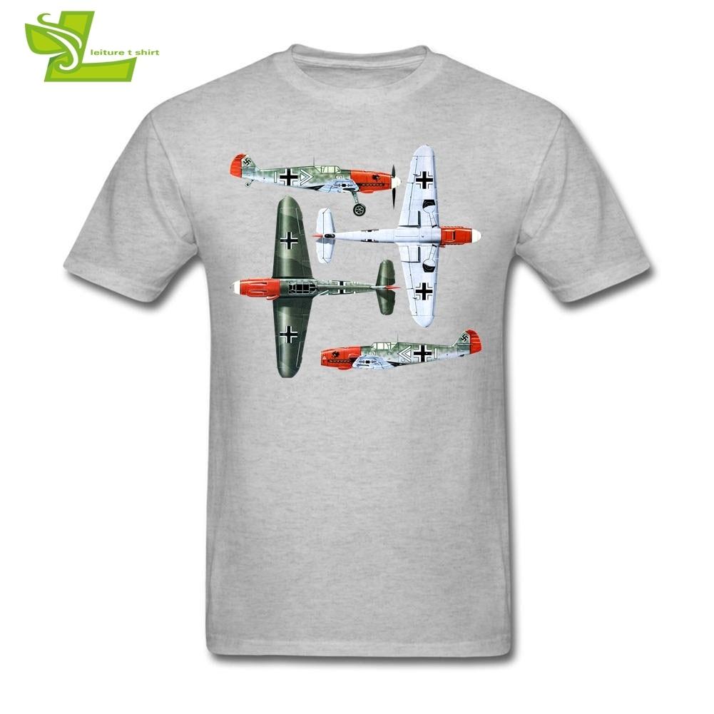 Erich Hartman T Shirt Men's Crew Neck Cheap Tees Adult Tshirt Gerhard Barkhorn 2019 Fashion Teenboy Tee Shirts RC Airplane Pilot
