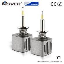 Лампы фар автомобиля Y1 32 W светодиодный обеспечивается SAMSUNG H7 светодиодный H4 H8 H9 H11 9005 HB3 9006 автомобилей Стайлинг фар авто 5500 K 4300 K