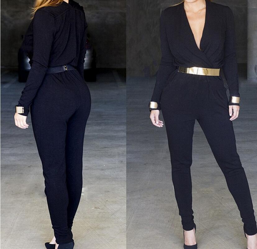 Online Buy Wholesale long sleeve bodysuit black from China long ...