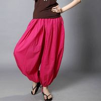 Bloomers Yoga Pants Pure Cotton Big Yards Female Trousers Free Shipping