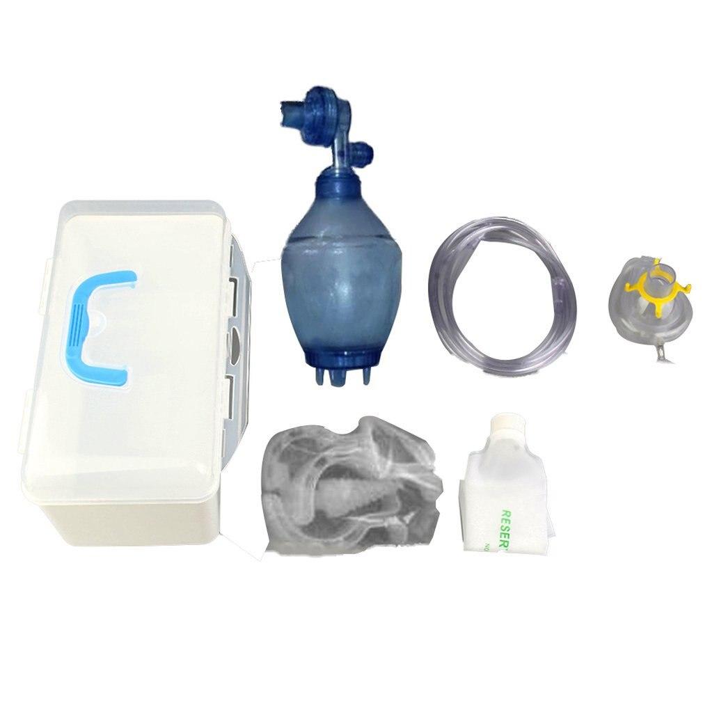 Simple Self-help Respiratory/silica Gel Simple Respirator /cardiopulmonary Resuscitation Airbags Training