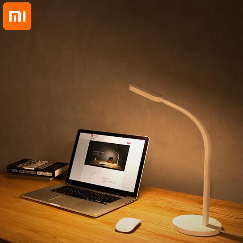 Xiaomi Yeelight Led Desk Lamp Dimmable Folding Lights Touch Adjust Flexible Lamps 3W Energy Saving For