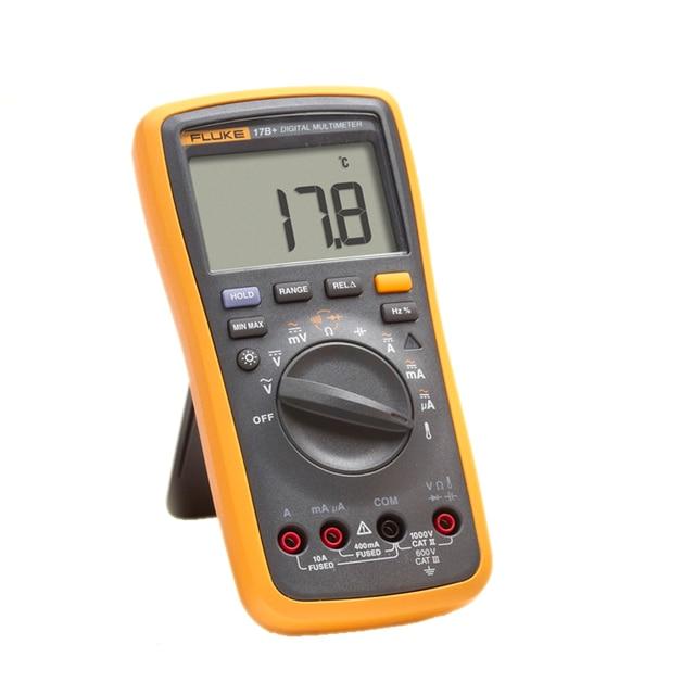 fluke 17b ac dc voltage current capacitance ohm auto manual range rh aliexpress com Fluke Worm Fluke Bait